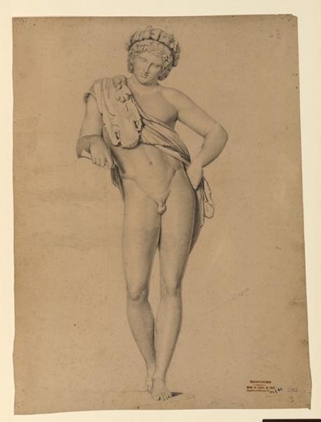 Etude d'après une statue antique_0
