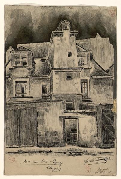 GIRARDIN Joseph (dessinateur) : Rue du Port-Ligny