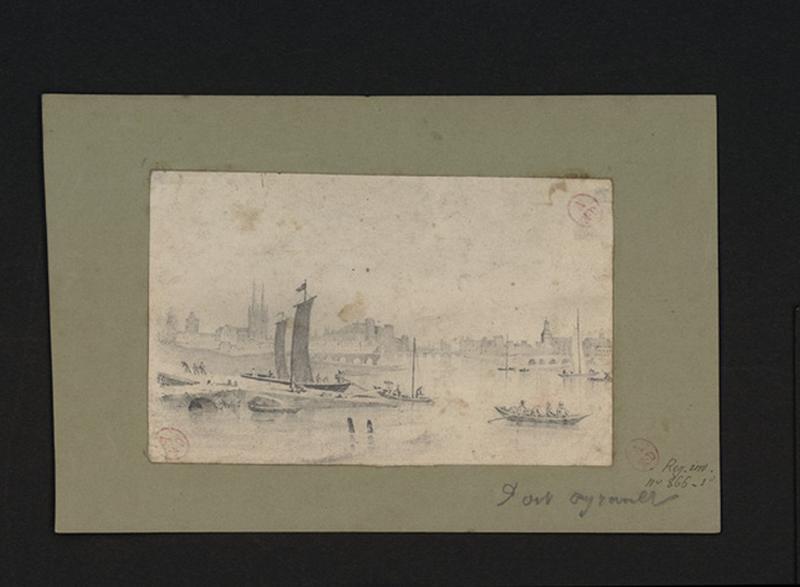 Port Ayrault et ponts des Treilles et du Centre
