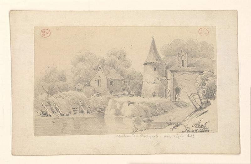 HAWKE Peter (dessinateur) : Château du Rossignol
