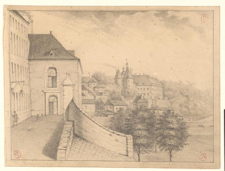 anonyme (dessinateur) : Collège de Beaupréau
