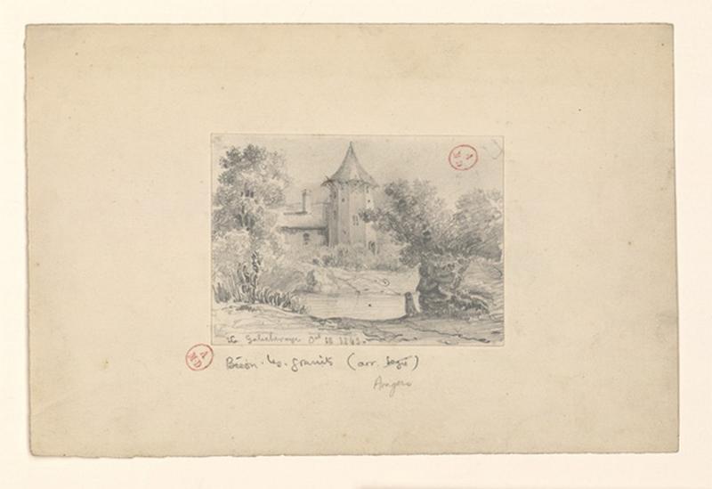 HAWKE Peter (dessinateur) : Manoir de la Galicheraie (Titre de M. Bardelot)