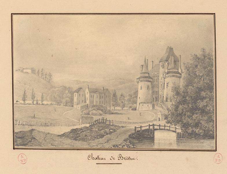 anonyme (dessinateur) : Château de Brissac