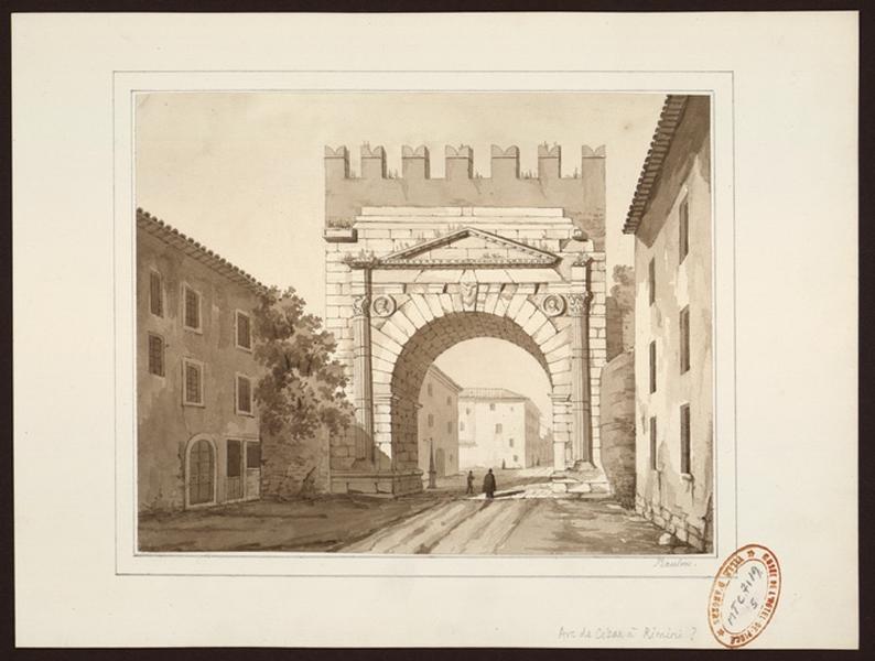 Arc de César à Rimini