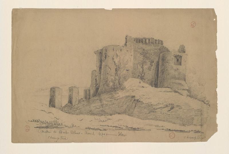 HAWKE Peter (dessinateur) : Château de Champtocé
