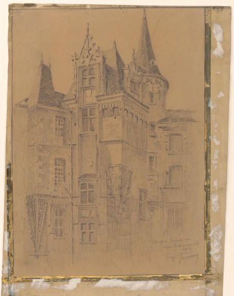 Angers, tourelle de Logis Barrault_0