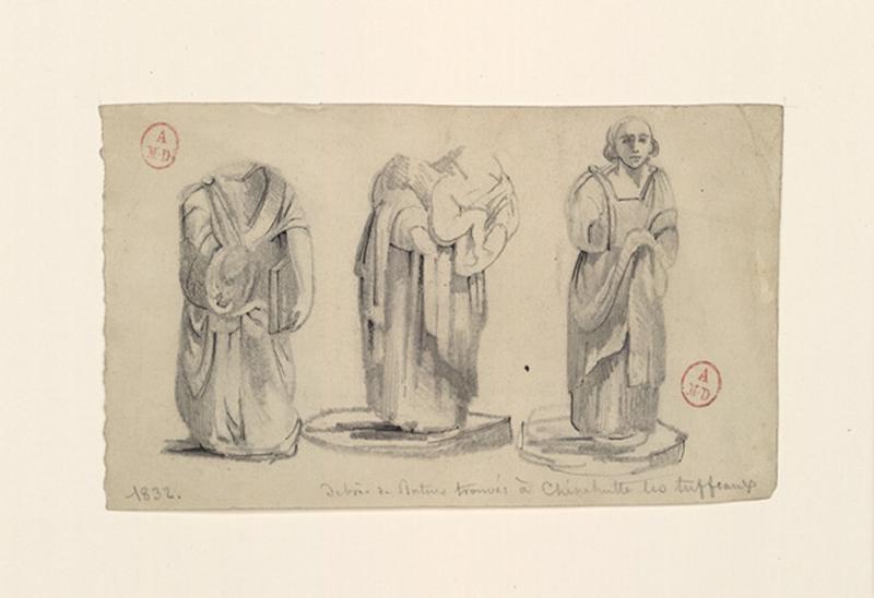 Statues trouvées à Chênehutte-les-Tuffeaux (Titre factice)_0
