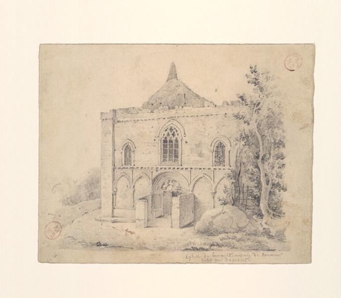 Eglise de Cunault près Saumur