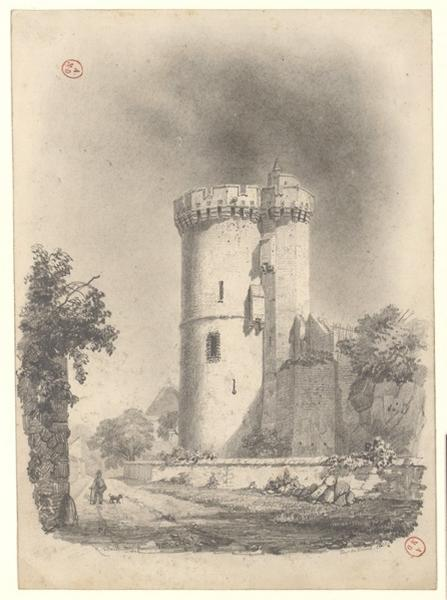 VETAULT René François (dessinateur) : Tour de Trêves