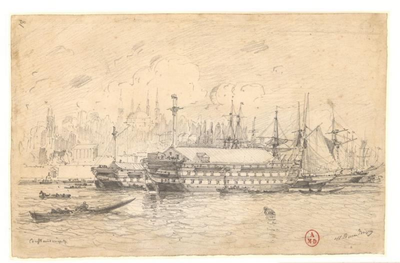 Le port de Constantinople_0