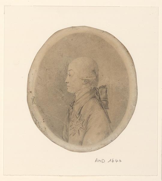anonyme : Portrait du prince de Conti