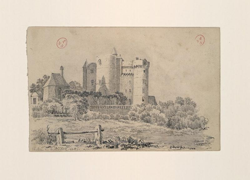 HAWKE Peter (dessinateur) : Château de Montsabert