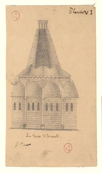 La tour d'Evraud