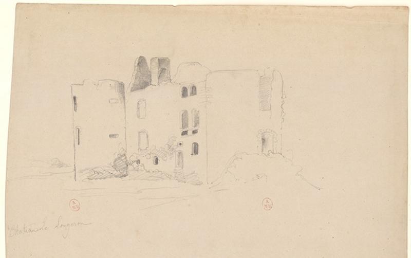 Ruines du château de la Gimonnière