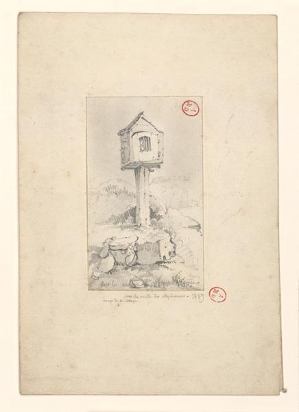 HAWKE Peter (dessinateur) : Chapelle de chemin