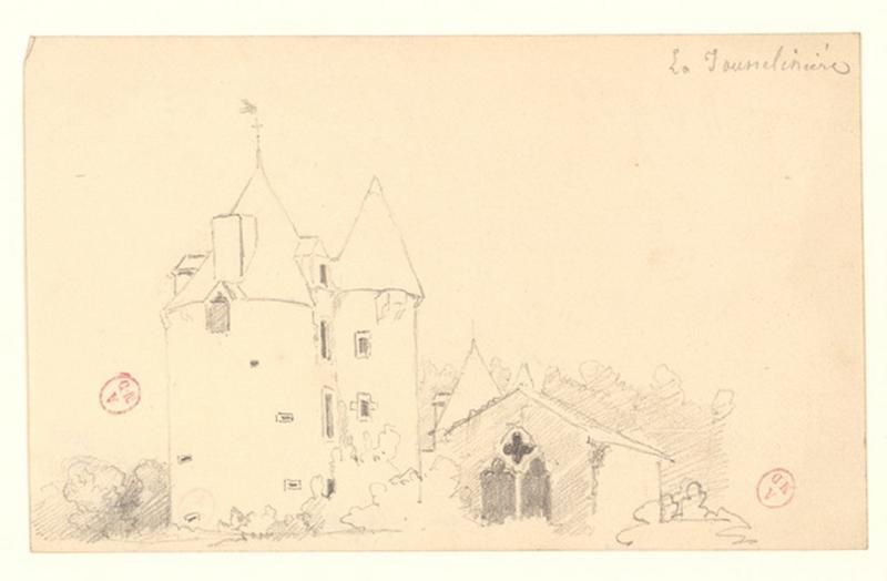 anonyme (dessinateur) : Château de la Jousselinière
