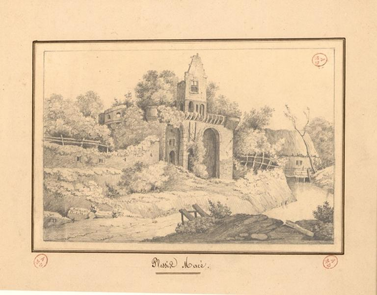 Donjon du château du Plessis-Macé