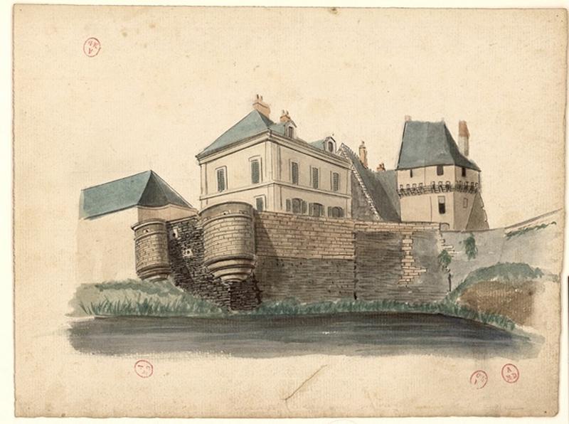 anonyme (dessinateur) : Château des Ponts-de-Cé