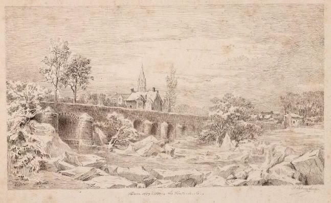 Les Ponts-de-Cé pendant l'hiver 1879-1880_0