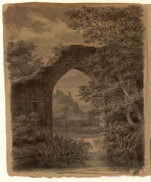 Ruines du château de la Grande-Guerche