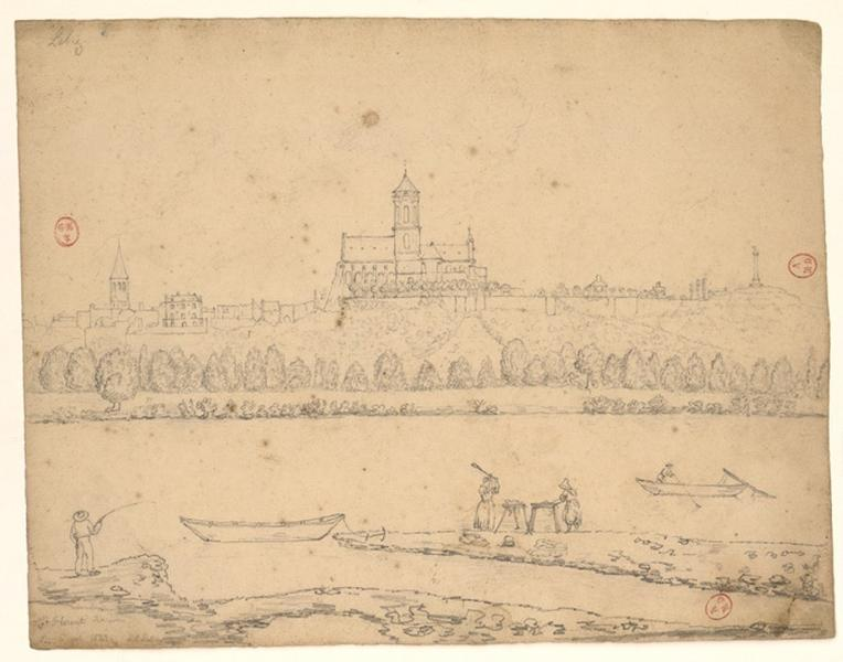LEBIEZ Louis René : Vue générale de Saint-Florent-le-Vieil