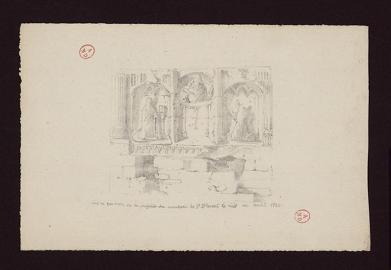 Retable de la chapelle Saint-Sauveur
