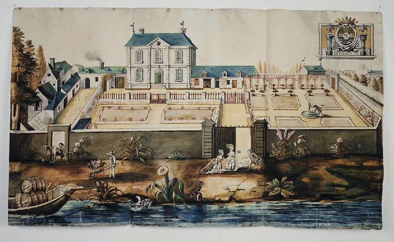 JOULAIN (dessinateur) : La Roche à Port-Thibault