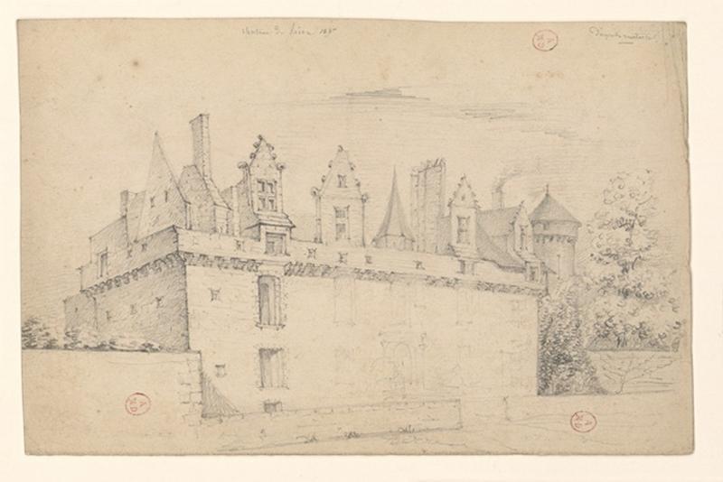 HAWKE Peter (dessinateur) : Château de Riou