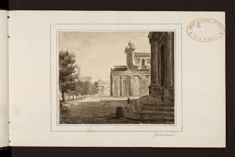 Eglise construite sur les ruines d'un temple
