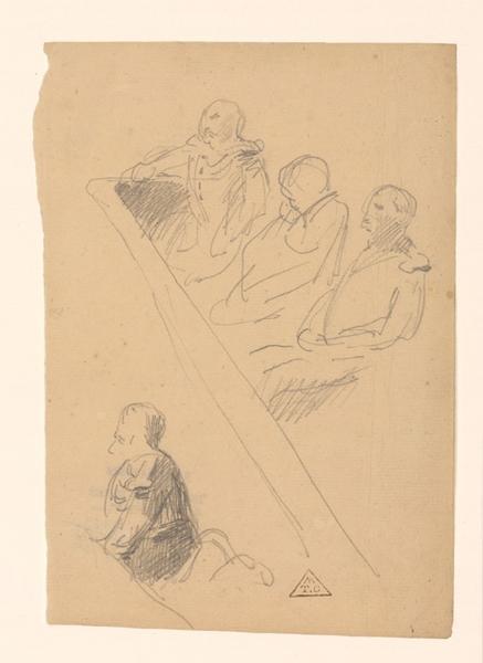 Croquis de cour d'assise ; Croquis d'audience