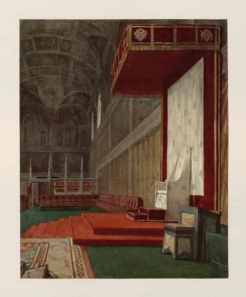Vatican, vue de la chapelle Sixtine