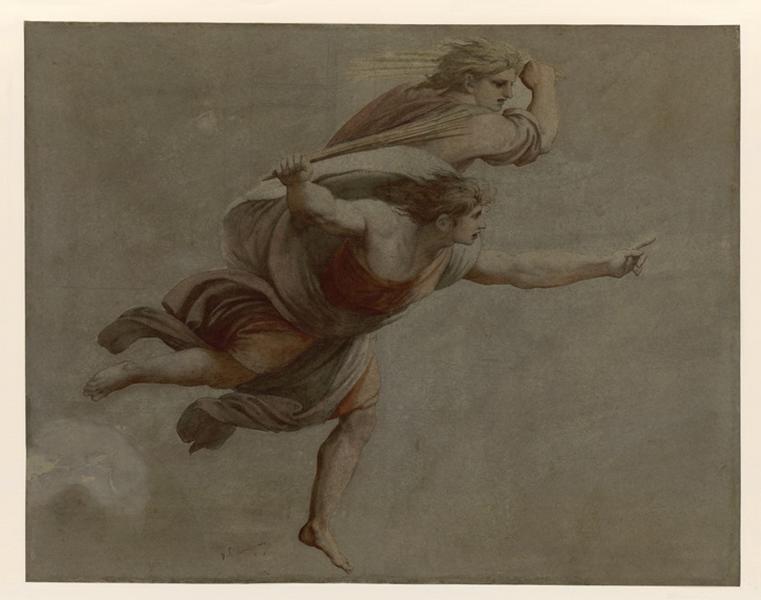 Rome, le Vatican, d'après une fresque de Raphaël