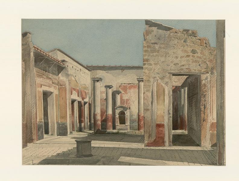 La maison du poète tragique à Pompéi_0
