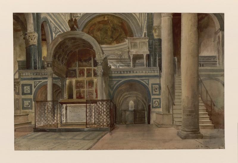 San Mignato, intérieur d'église, Florence_0