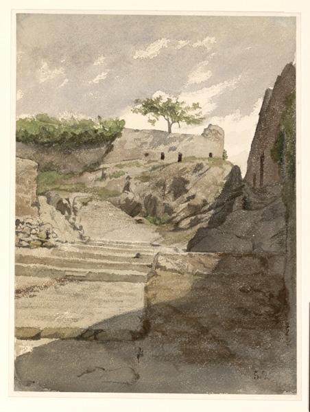 LENEPVEU Jules Eugène (dessinateur, peintre) : Messine