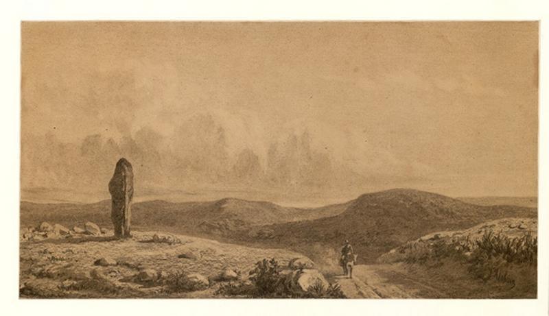 Vue des monts d'Arrée (Finistère)