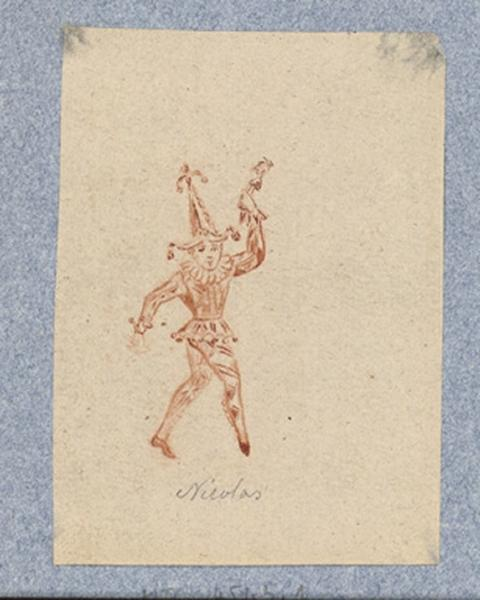 Costume d'acteur dans Mme Angot : Nicolas