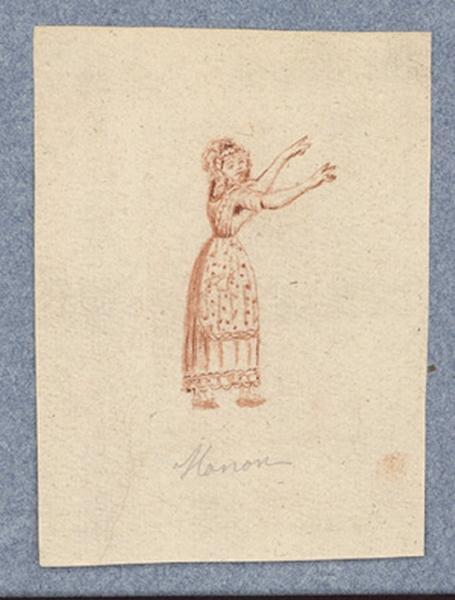 Costume d'acteur dans Mme Angot : Manon_0