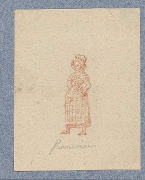Costume d'acteur dans Mme Angot : Françoise_0