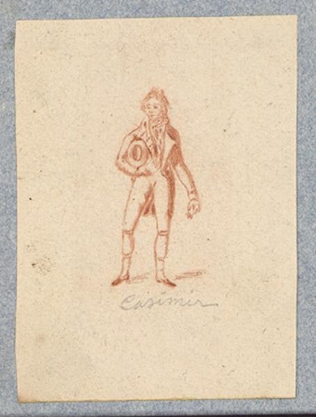 Costume d'acteur dans Mme Angot : Casimir