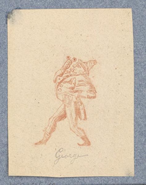 anonyme : Costume d'acteur dans Mme Angot : Georges