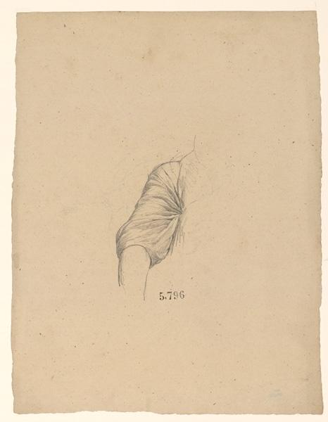 LENEPVEU Jules Eugène (dessinateur) : Figures pour la peinture murale de la chapelle Sainte Marie
