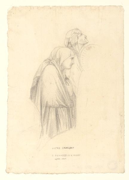 Copie d'après Pietro Cavallino à Assise