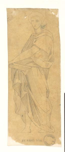 LENEPVEU Jules Eugène (dessinateur) : Etude