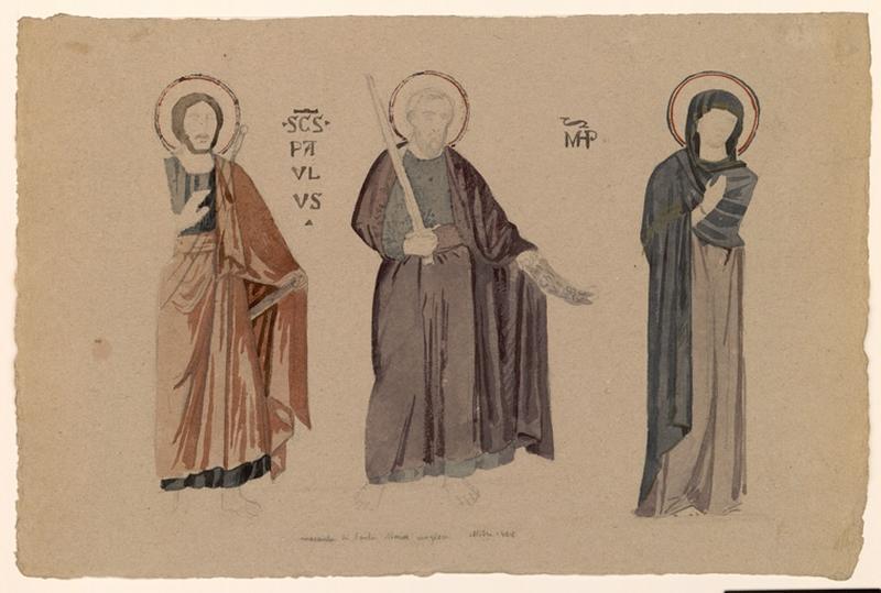 Etude des mosaïques de Santa Maria Magiore_0