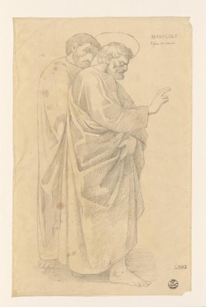 Monuments, figures : Bénédiction d'un saint