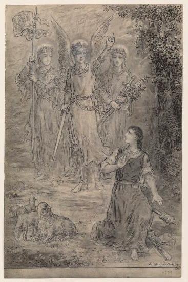 Apparition à Jeanne d'Arc_0