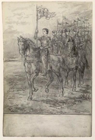 Jeanne d'Arc à cheval_0