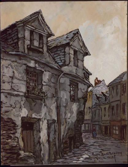 Maison de la rue du Port-Ligny