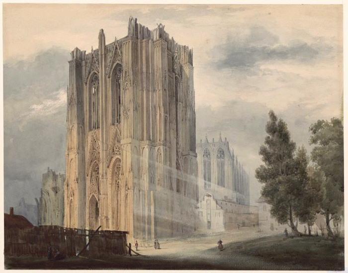 HAWKE Peter (dessinateur) : Cathédrale de Cologne